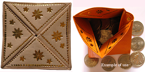 Moroccan Tan Coin wallet