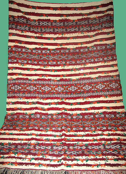 Moroccan Amazigh (Berber) wall hanging #484