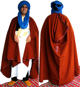 Moroccan Moroccan Burnoose/Cape + FREE S/H Sp!