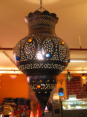 Moroccan Happiness Copper Chandelier sale!!