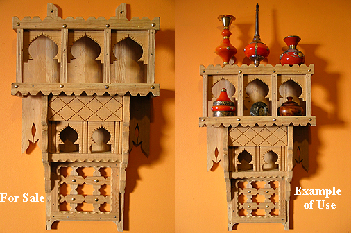 Moroccan Moroccan wood shelf #880 $15 OFF