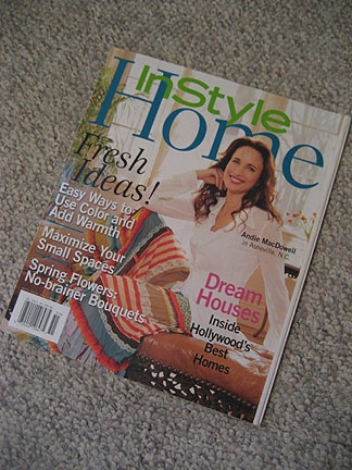 In Style Home Magazine