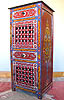 Moroccan entry console/cabinet $71 OFF