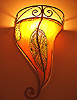 Henna Painted Sconce FREE S/H !