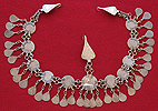 Collectible Silver head piece